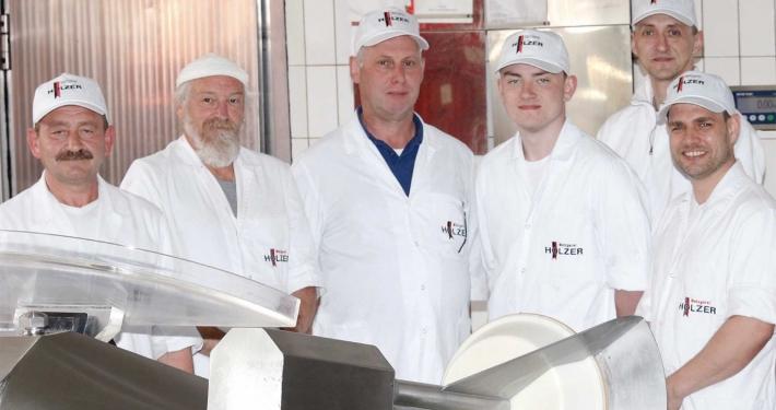 Metzgerei Holzer Team Produktion