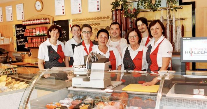 Metzgerei Holzer Team Verkauf