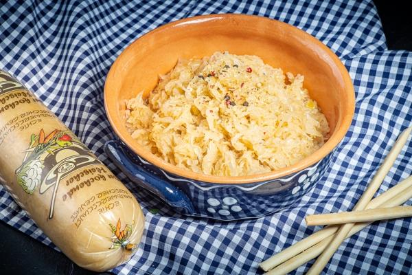 Wurstschmied, Sauerkraut, fertig