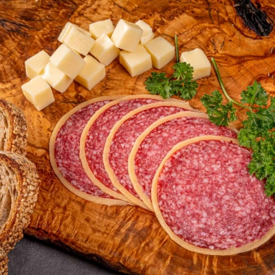 Käsesalami, Wurstschmied